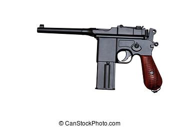 aislar,  revólver, Arma, guerra, mundo, pistola, primero
