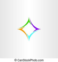 business design element logo abstract colorful symbol -...
