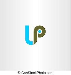 letter lp logo logotype vector - letter lp logo logotype