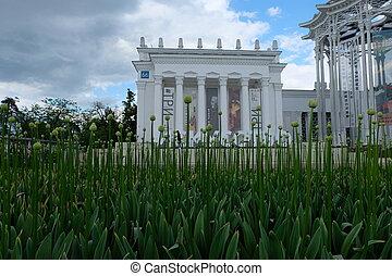 Former Uzbekistan pavilion - VDNH - Moscow, Russia - Former...