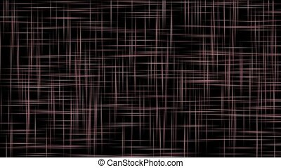abstract purple lines cross