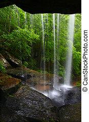 Waterfall in northern Alabama