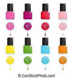 color nail polish set