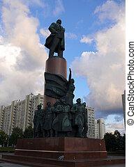 monumento, Lenin, moscú