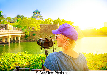 Travel photographer in Japan - Travel photographer with...