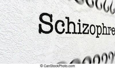 Schizophrenia disease