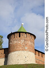 Kremlin Tower - The north-west tower of the kremlin in...