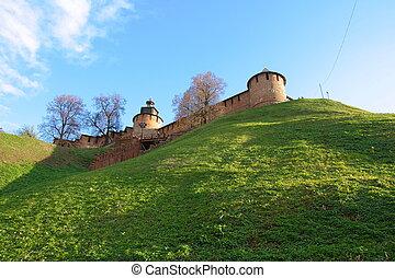 Kremlin in Nizhny Novgorod - The north-west part of the...