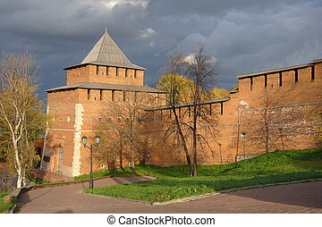 Kremlin Gate - The north-west tower and gate of the kremlin...