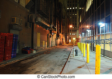 Back Alley - Back alley in New York CIty