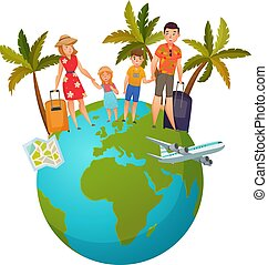 Family Vacation Composition - Family vacation composition...