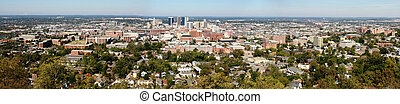 Birmingham Panoramic - The city of Birmingham, Alabama as...