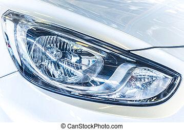 car headlamp - the car headlamp
