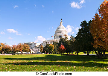 Capitol - The United States Capitol building, Washington, D...