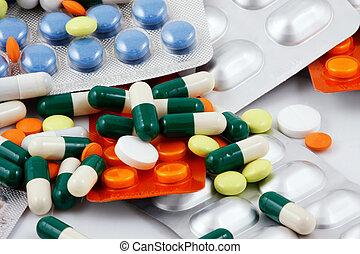 Packs of pills - Blister Packs Of Pills