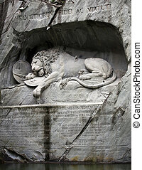 Lion of Lucerne, Switzerland