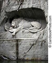 Lion of Lucerne, Switzerland  - Lion of Lucerne, Switzerland