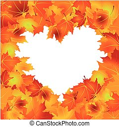 Autumn Leaves background - Beautiful Autumn Leaves...