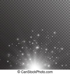 Bokeh background with light effect - Bright background with...
