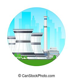Icon Nuclear Power Plant