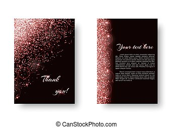 Brilliant background with new year light - Foil background...