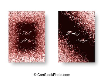 Brilliant background with flare light - Bling background...