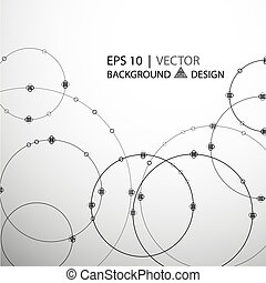 Abstract geometric hipster deco art pattern