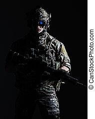US Army Ranger close-up