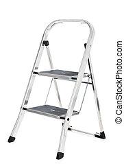 Stepladder - Small stepladder. All on white background