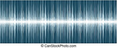 Background with sound scale. - A background with the image...
