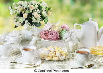 Delicate multicolored sweets - Delicate multicolored...