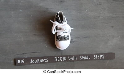 Big journeys begin with small steps, vintage style - Big...