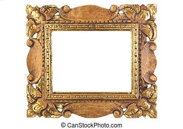 antieke, afbeelding,  frame