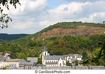 Kirn,Deutschland Germany - a beautiful panoramic view from...