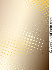 orange poster background - metal background with dots