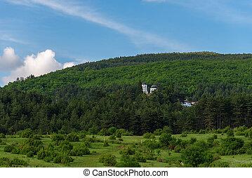 The Kremikovtsi Monastery of Saint George in bulgaria