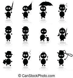 funny vector illustrations