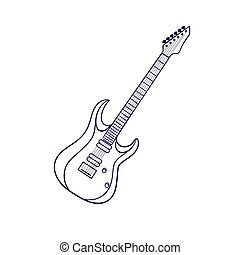 rock electric guitar