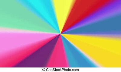 abstract color radial pattern 4K - The radiant rotating...