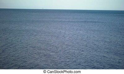 Sea at sunny day - Blue sea at sunny day