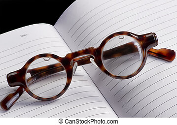 Funny Looking Glasses. - Funny looking reading glasses with...