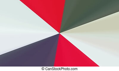 abstract red and grey pattern 4K