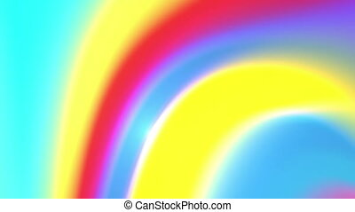 rainbow colors twirl 4K - The radiant colorful background...