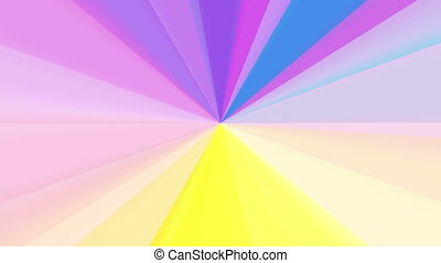 purple color wheel spectrum
