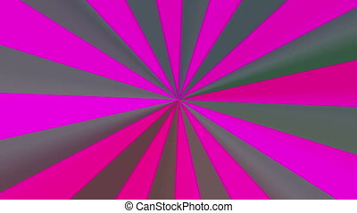 abstract magenta radial pattern 4K - The radiant rotating...