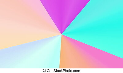 colorful wheel spectrum 4K - The radiant rotating background...