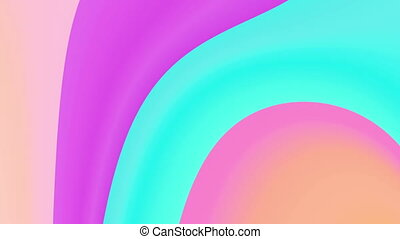 pink color twirl 4K - The radiant colorful background with...