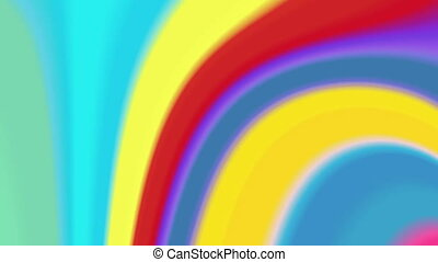 color twirl 4K - The radiant rotating background with...