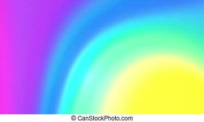 colorful twirl 4K - The radiant colorful background with...