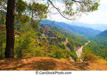 Dalaman - Gocek over the mountain pass